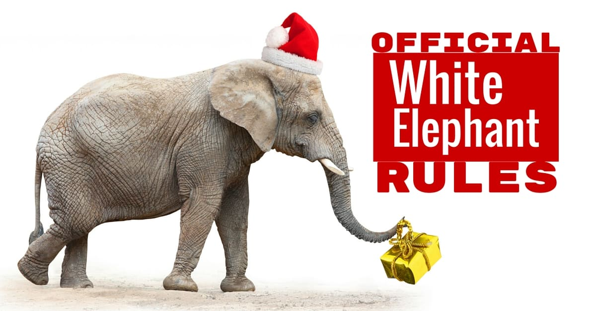 Official white elephant gift exchange rules negle Gallery