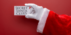 Feature image for article on Secret Santa clues